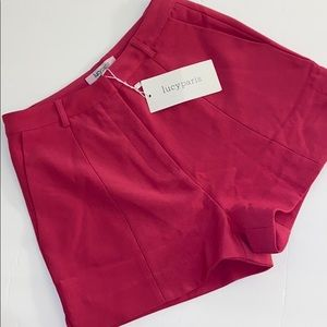 LUCCY PARIS pink shorts